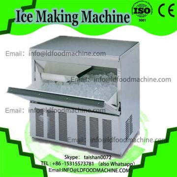 Thailand fry ice cream machinery/double pan fried ice cream machinery/fried ice cream machinery with 10 fruit buckets