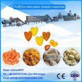 2016 automatic corn flour puffed food machinery/puffed snack plant/puffed  process line