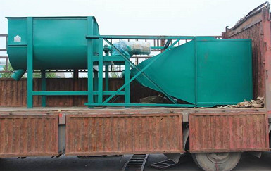 Effect of particle size of feed processing line on quality of growing pigs