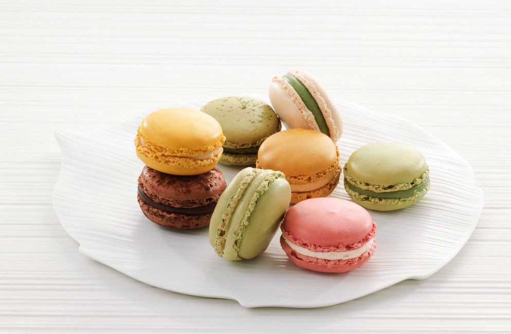 The application of natural pigment in macaron baking food was studied