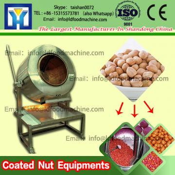 Peanut salted flavored nut coating machinery