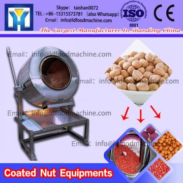 Easy Operating Cylindrical Peanut Coater Drum Flavored Peanut Coating machinery