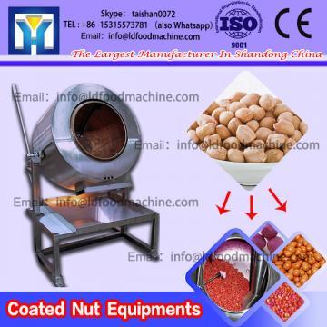 Nut Drum Coater Japanese Bean Coating machinery Rolling Coater