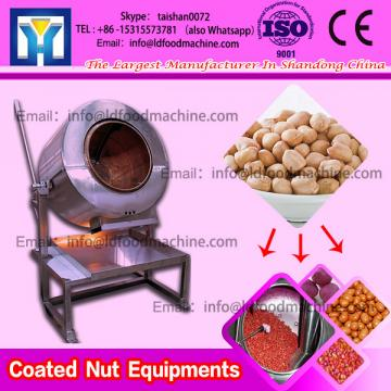 Continuous Honey Coated machinery Peanut Rotating Coater Sweet Flavor Coater