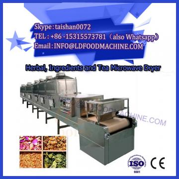Microwave dryer oven for drying tea leaves