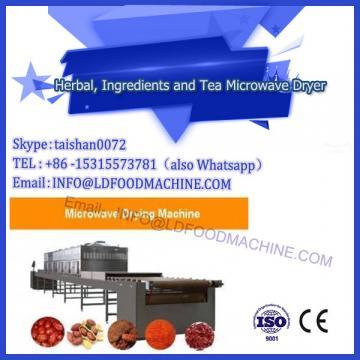 tea tunnel microwave dryer