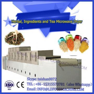 low price high quality yellow tea microwave dryer