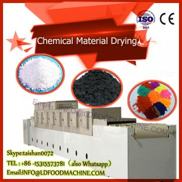 Microwave drying machine for chemical material