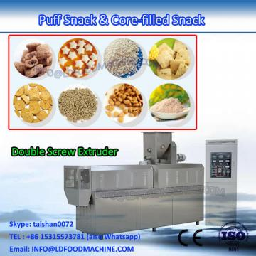 Core filling puff snacks food production line