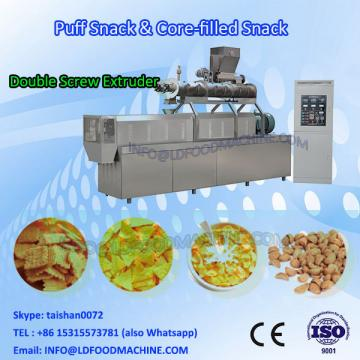 Automatic puffed food production line