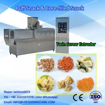 China corn puffed extruding snacks food make
