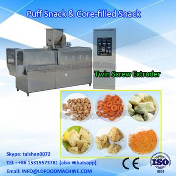 Core filled puff snacks processing machinery