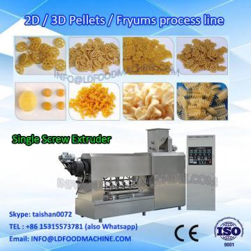 Square Shape 2D/3D snack Pellets food Producing Line