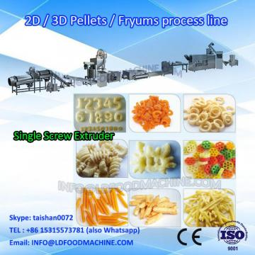 250kg/h industrial fried pellet production line