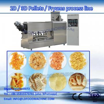 2D 3D pellet  crisp pea extruder machinery process line