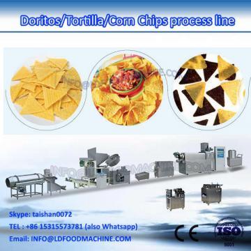 Doritos corn chips make extruder equipments crisp corn chips processing line