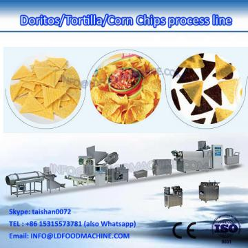 Frying plants processing line machinery for corn snacks extruder