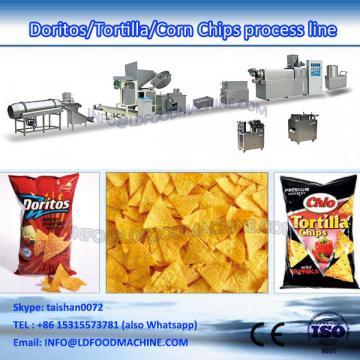 fried snacks food extruder fried wheat flour snacks production line