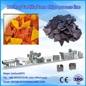 100kg/h twin screw extruded wheat flour fried snack machinery price