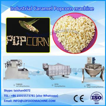 Hot Air Popping Caramel Chocolate Coating multi Flavored Popcorn Pop Corn Processing Line