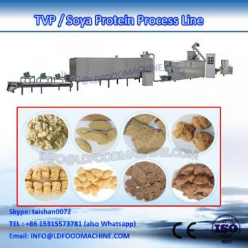 textured vegetarian Soya Protein Chunk extruder machinery With CE