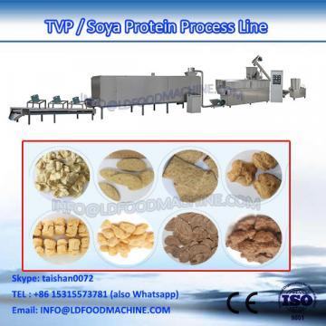 textured vegetarian Soya Protein Chunk extruder machinery