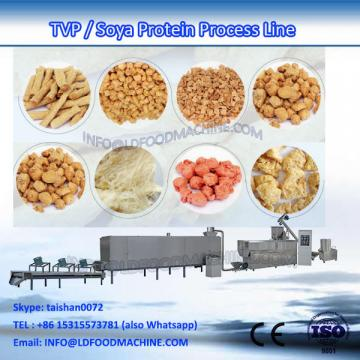 Automatic Textured Vegetable Soy Bean Meat Protein Soya Chunk Nugget Extruder machinery