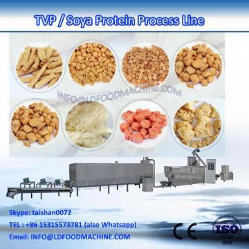 Textured vegetarian soya protein extruder machinery