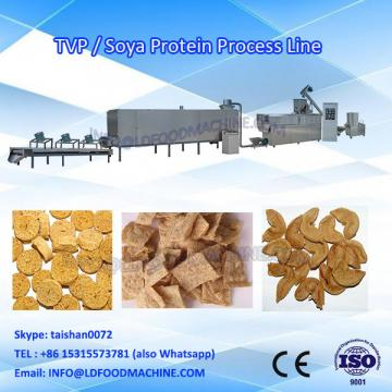 Jinan LD Automatic Textured Vegeterian Soy Bean Meat Protein Soya Chunk Nuggets Extruder machinery