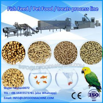 Automatic double screw extruding dry pet food making machine
