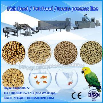 Double screw type cheap price dog food making machine