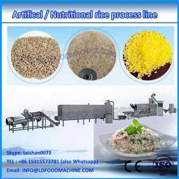 man made artificial rice extruder make machinery line