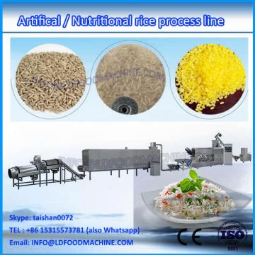 Semi automatic extruding nutritious rice planting machinery, artificial rice processing line, rice plant