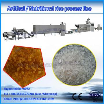 Automatic enriched rice make extruder machinery