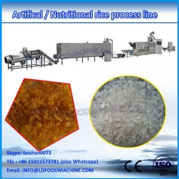Full Auto artificial rice make machinery/nutrition rice production machinery/instant rice make line equipment