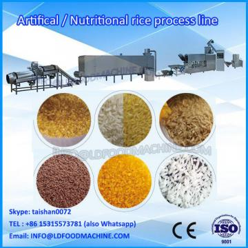 artificial and nutritional rice food processing extruder machinery