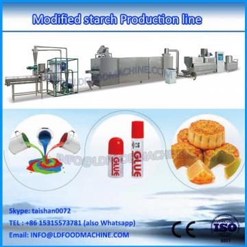 High efficiency modified starch making extruder machine