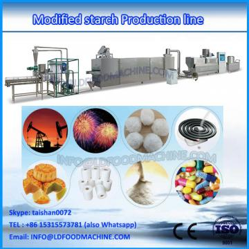 Modified corn starch oil well drilling extruded equipment