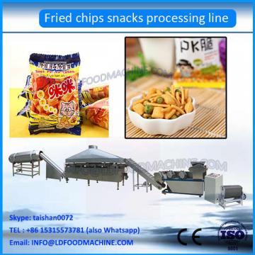 Fried Wheat Flour Snacks Machine Fried Chips Production Line