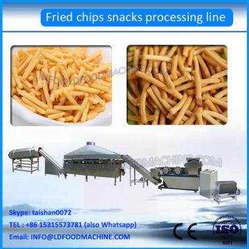 Extruded Fried Snack Food 3D Flour Bugles Chips , snacks making machine