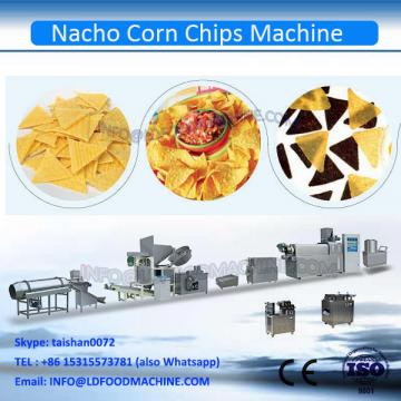 Chinese Preferred Automatic Extruded Fried Corn Chips Equipment