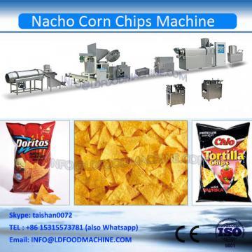 Nachos corn chips processing