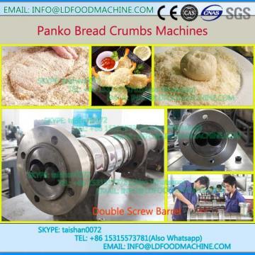 Automatic Cheap Panko Dry Bread Crumb Coating machinery Plant