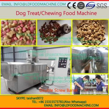 animal pet dog feed twin screw extruder machinery