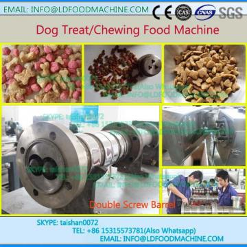 Extrusion pet dog food processing machinery line
