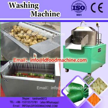 vegetable washer with brush rollers suitable for root vegetables