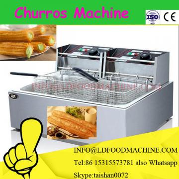Stainless steel industrial continuous churro deep fryer