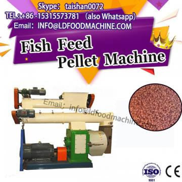 Fish feed pellet extrusion machinery/ce certification stainless steel ring die pellet press line