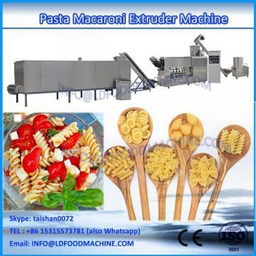 Best selling macaroni pasta make machinery line