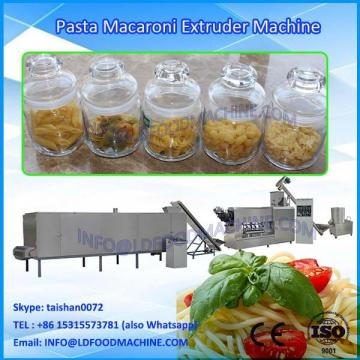 Macaroni pasta extruding machinery pasta fusilli make machinery
